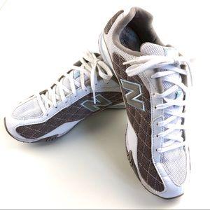 8.5 New Balance 442 low-profile sneakers walking